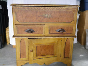 Antique 1860's Canadiana Washstand