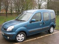 2004 54 REG Renault Kangoo 1.6 16v auto Expression (LOW MILEAGE)