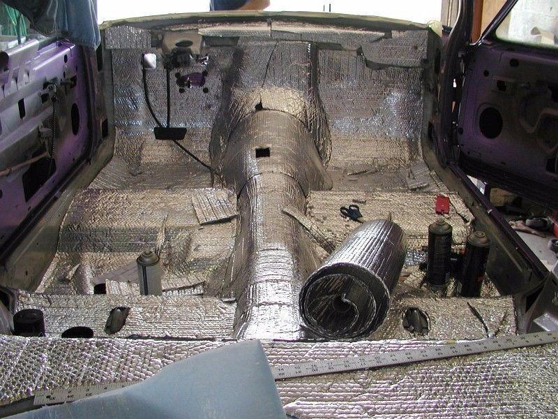 Owner Car Insulation 40Sqft - Thermal Sound Deadener - Block Automotive Heat & Sound