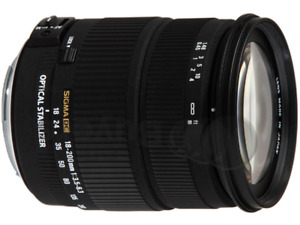 Objectif Zoom Polyvalent Sigma  DC 18-200mm Canon EF-S T3i T5i