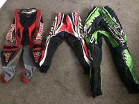 Kids motorbike trousers