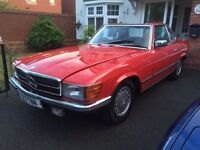 Mercedes-Benz SL 380 R107 - History dated back to 1980's - Classic Car - NO RUST