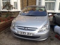 2003 PEUGEOT 307 1.6 WITH MOT STARTS BUT NEED CLUTCH QUICK SALE