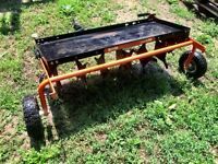 Agri-fab Smart Link with Aerator & Dethatcher