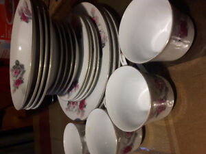 Dishes never used