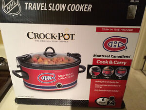 Montreal Canadiens slow cooker