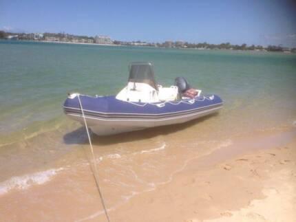 2007 Zodiac Pro Open Jet Boat 5.50 + Trailer + Yamaha 100HP