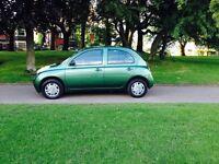 2004/Nissan Micra /1.2 / Petrol /12 Month /MOT /Low Mileage /Excellent Condition