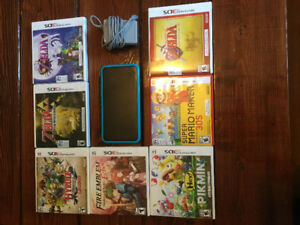 3DS - NEW 2DS XL With 7 Games Trade for Xbox One or PS4