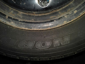 Winter tires -used Cornwall Ontario image 2