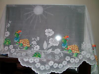Window curtain for a child's/baby bedroom
