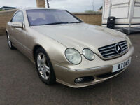 Mercedes-Benz CL 500, PRIVATE PLATE, SERVICE HISTORY
