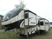 F/R Sierra 384QBOK Rear Bunkhouse 5th wheel,Showmans,Caravan,Trailer,RV