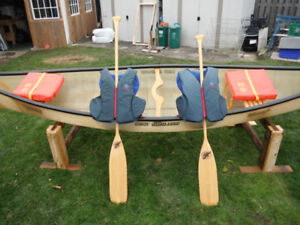 Kevlar Canoe 13ft6'' with/without New Extras
