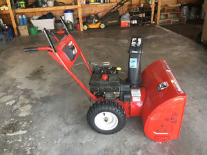 "SNOWBLOWER Mastercraft GAS 10HP 29"" cut"