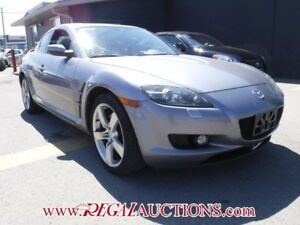 2005 MAZDA RX-8 GT 4D COUPE GT