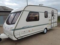 Abbey VOGUE GTS 416, 2001, 4 Berth End Washroom, Centre Dinette, 2 Bunk Beds!