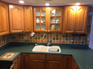 Kitchen cabinets and appliances for sale