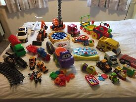 Big collection of toys for toddler aged 1-3