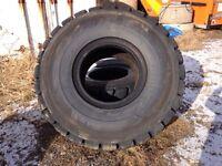 2 Loader tires