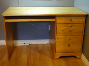 Pine Desk (made in Canda by Canwood)