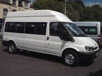 FORD TRANSIT 14 SEAT HIGH ROOF WHEELCHAIR ACCESSIBLE DISABILITY MINIBUS