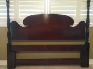 Gibbard Honduras Mahogany Queen Head Board