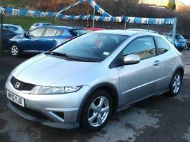 2010 Honda Civic 1.4 i-VTEC Type S 3d **50k / NEW MOT**