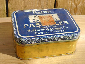 ANTIQUE 1927s NALCO MENTHOL PASTILLES NORTHROP LYMAN CO TORONTO