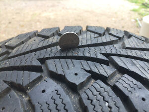 Hankook i Pike Winter tires and rims 175/65R14 Kawartha Lakes Peterborough Area image 3