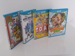 WiiU games for sale $90 the lot.