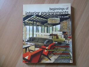 beginnings of interior environments,  eleventh edition Cambridge Kitchener Area image 1