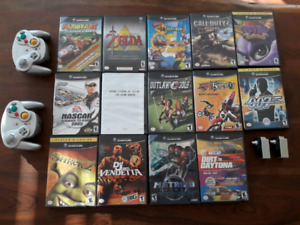 Gamecube Games and controllers