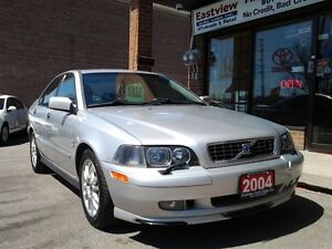 2004 Volvo S40 AUTO,AIR,LEATHER,SUNROOF,NO ACCIDENT.$3688