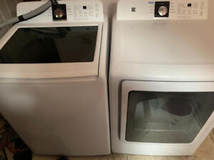 2015 kenmore Washer and dryer set for sale