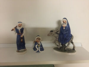 Goebel Figurines - Flight into Egypt