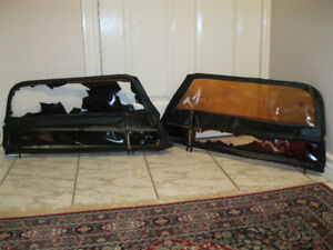 MGA Side Curtains, Rare, Very Early Style, OEM, Flip-Up Style