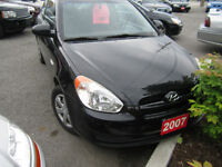 "2007 Hyundai Accent Coupe !!99,000KMS!! ""SAFTEY &E-TESTED"""