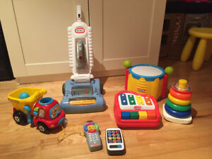 Lot de jeux - Fisher Price, Little Tikes, Vtech