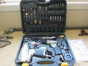 mastercraft air tool set