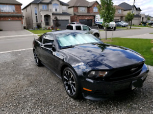 2012 Mustang performance package