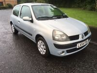 Renault clio 1.2 long mot 74k new clutch plus loads more