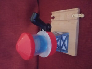 Sodor wooden water tower from Thomas the Train