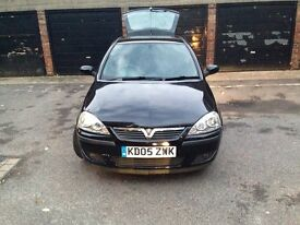 Vauxhall corsa 1.2 SXI 16v hatchback 3 door manual black