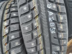 4 X NEW CLOUTE TIRE 205-60-R16 WINTER MARSHAL TIRE NEUFS