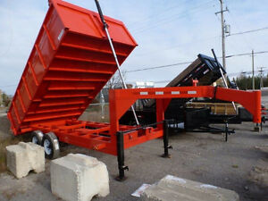 PRE OWNED TRAILERS 8 x 16 DUMP REDUCED  SHOWN