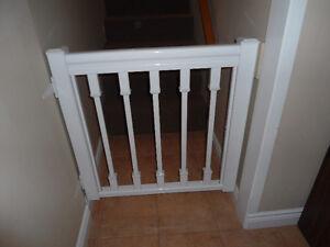 barrière en aluminium pour escalier ou autre.