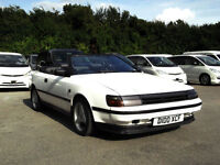 1987 TOYOTA CELICA 2.0 GT TWIN CAM CONVERTIBLE PX BARGAIN NO OFFERS