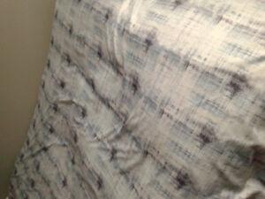 Housse de couette pour lit simple