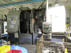 Hwacheon ECO 2SP 5VN CNC Vertical Turning Center